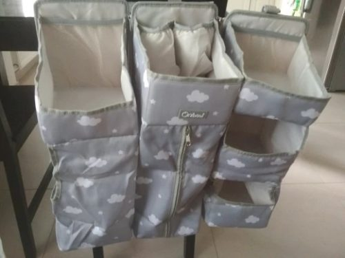 Baby Bed Organizer Hanging Bags photo review